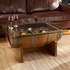 used wine barrel furniture. Mountain Manse Glass Top Barrel Table Used Wine Furniture R
