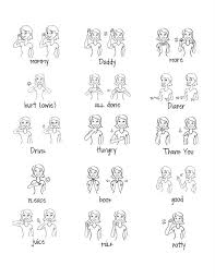 Lovely Little Snippets Baby Signs Sheet Free Download