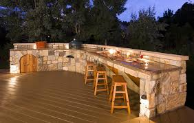 image of led outdoor lighting deck