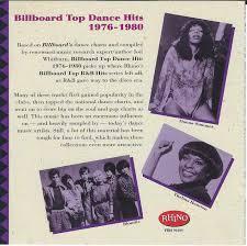 The Hideaway Rhinos Billboard Top Dance Hits 1976 1985