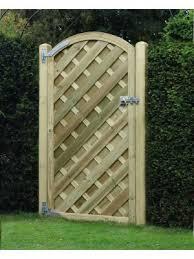 garden gate madrid arched panel vag180