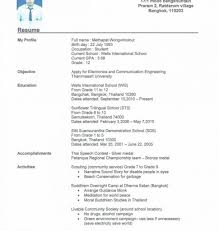 resume for college student with no experience resume template breathtaking no experience resume examples college