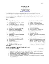 Medicare Chart Review Jobs Cv Torres 2 16