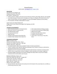 A High School Resume High School Resume How To Write The Best One Templates