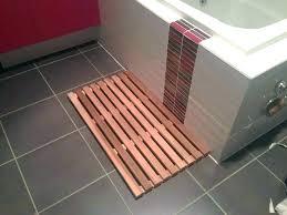 diy wooden bath mat wood shower mat wooden mats teak bathroom floor bath x cedar designer diy wooden bath mat