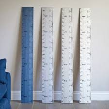 Giant Measuring Stick Growth Chart Personalised Kids Rule Height Chart Eco Paint Range