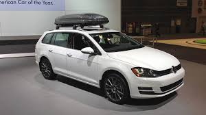 VW announces 2015 Golf SportWagen price during Chicago Auto Show ...