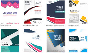 99 Amazing Cover Page Templates Free Download