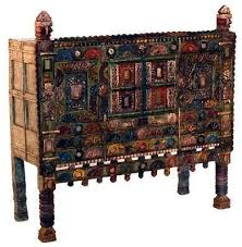 Painted Indian furniture india online shopping beds