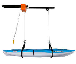 best kayak or canoe storage hoist for your garage