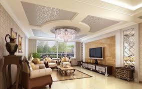 Classic interior design living room ceiling picture