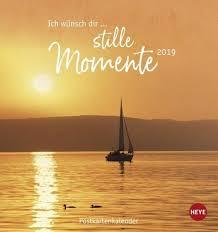 Ich Wünsch Dir Stille Momente 2019 Postkartenkalender Kalender