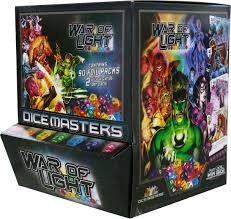Dc Comics Dice Masters War Of Light Wizkids Dice Masters War Of Light Gravity Feed Box
