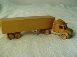 wooden semi truck shelf model big rig wheeler wooden semi truck peterbilt plans