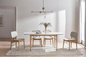 chelsea marble dining table 160cm
