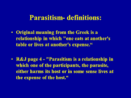 Some one who sponges everything out of you even your last breath given have the parasite. Principles And Definitions R And J Chs 1 2 Ppt Video Online Download