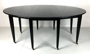 oval drop leaf dining table by edward wormley for dunbar for at 1stdibs