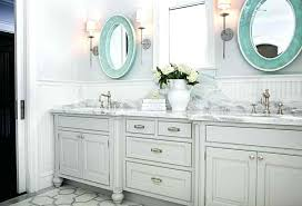 ornate mirrored wall cabinet cool bathroom