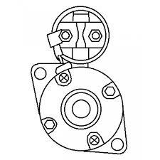 Nissan mitsubishi komatsu 1 0 kw starter motor fork lift mxyr 23300 15800 110155