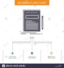 Chart Paper Presentation Business Document File Paper Presentation Business Flow