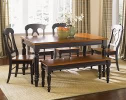 Low Back Dining Room Chairs Furniture Low Country Black Piece X Rectangular Dining Room With