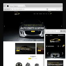 auto parts website template auto parts car store prestashop addons