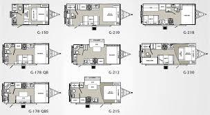 travel trailer floor plans. Micro Floor Plans | Palomino Gazelle Micro-lite Travel Trailer Floorplans - Large Picture S