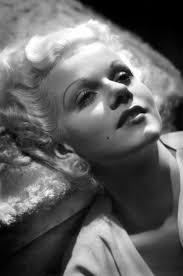 jean harlow dismanded the makeup look she never wore maa unless when she was at work for a film but the screen make up is much diffe from the