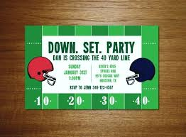 Football Flyer Template By On Super Bowl Party Invitations And