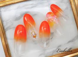 オレンジ系 タグ 横浜のネイル専門サロンembellirアンベリール