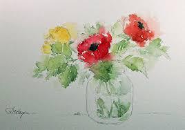 easy watercolor paintings watercolor paintings by roseann hayes