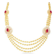 Gold Long Necklace Designs In 35 Grams Gold Necklace Design In 30 Grams With Price Necklace