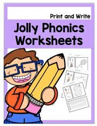 Identify the picture and stick its beginning sound. Jolly Phonics Worksheets Teachers Pay Teachers