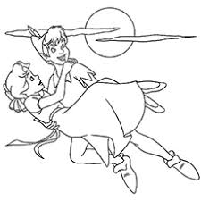 Small Picture Peter Pan Coloring Pages Free Printables MomJunction