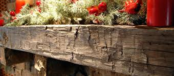 rustic fireplace mantels reclaimed wood mantel hand beam uk