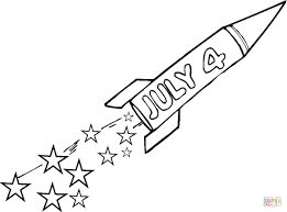 Fourth Of July coloring page | Free Printable Coloring Pages