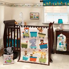 lambs ivy bedtime originals animal choo choo express 3 piece crib set com