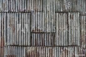photo art print rusted corrugated sheet metal wall yangon myanmar abposters com