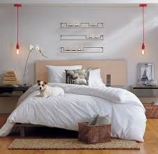 bedside lighting ideas. 37 Cool Hanging Bedside Lamps Shelterness With Bedroom Lighting Ideas