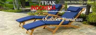 teak chaises lounges furniture manufacturer and producer from indonesia