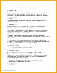 Science Investigation Example Psychology Experiment Report