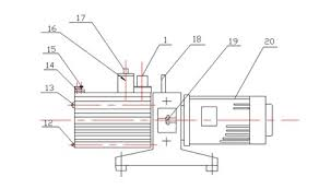 v4 vacuum pumps diaphragm rotary vane scroll pumps rotary vane pump cross section diagram