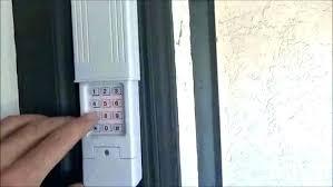 er garage door opener keypad overhead door remote keypad program er garage door opener best of