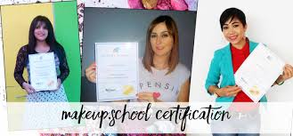 makeup certificate vs certification license fabulous birth pa