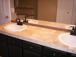 tile bathroom countertop ideas. Bathroom: Luxurious Tile Bathroom Countertops HGTV In How To A Countertop From Ideas