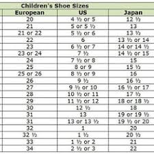 12 Best Clothes Images Clothes Shoe Size Chart Kids Shoe