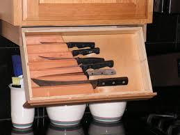 Under Cabinet Knife Rack Etsy