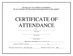 Microsoft Word Certificate Template Birth For Of Attendance