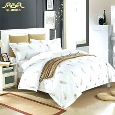 baseball bed sets whole luxury white hotel duvet cover set quality king queen size linen sheet
