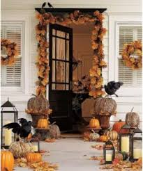 Haute Halloween Style | Davis Life Magazine Halloween Decorating Ideas:  Porches and Entryways ...